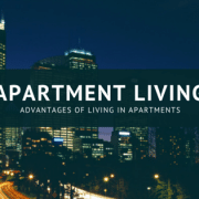 advantages of apartment living